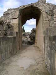 Anfiteatro de Itlica (Sevilla) (ipolca) Tags: travel sevilla andaluca spain traveling anfiteatro santiponce itlica ipolca ciudadromanadeitlica