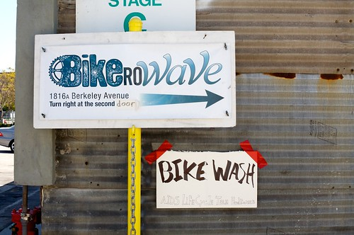 Bike Wash @ Bikerowave