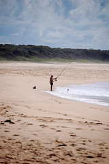 Beach Fisherman