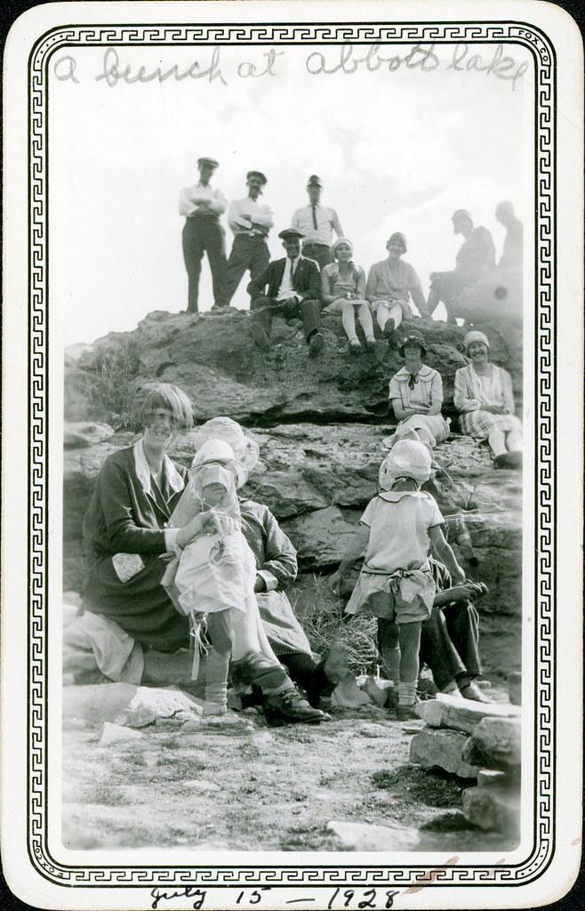 A bunch at Abbot Lake