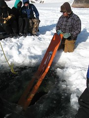 our anchor (Western Arctic Leadership Program) Tags: nwt icefishing walp