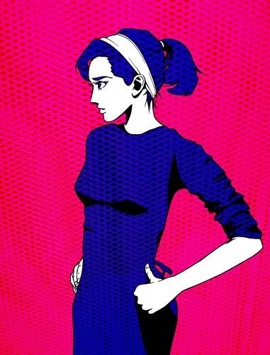 Audrey Hepburn by Natalie Nourigat