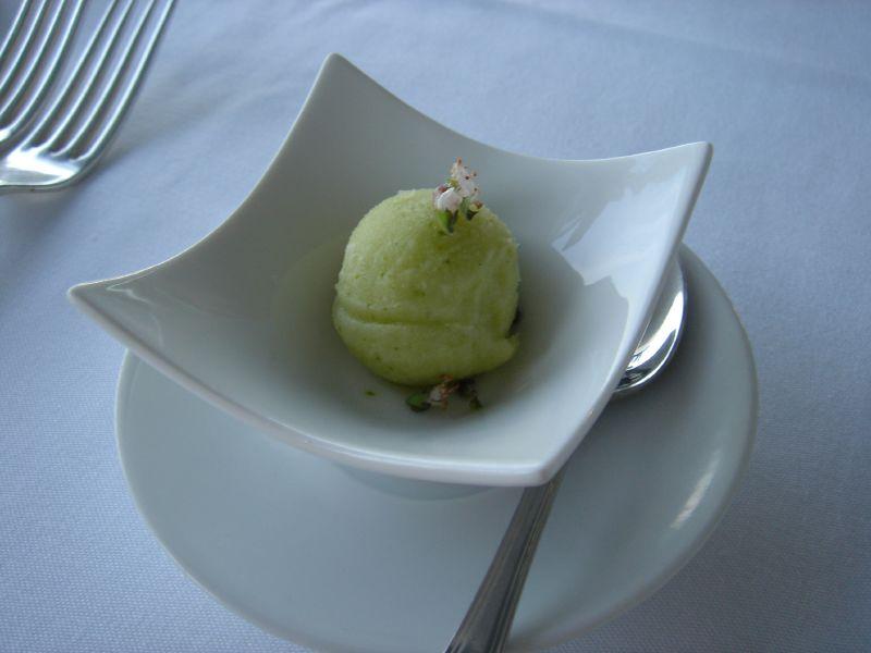 Basil Lime Sorbet