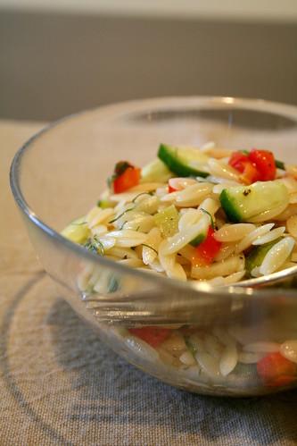 orzo pasta salad 005