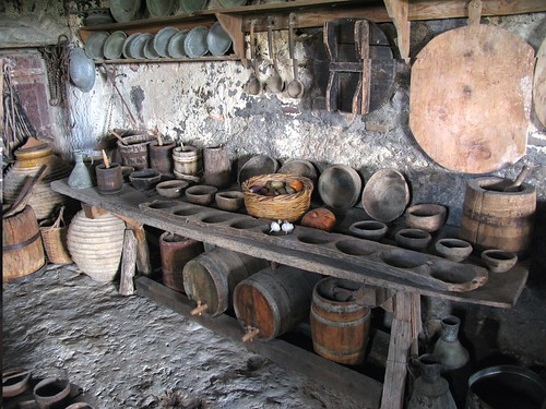 The old monastery's kitchen