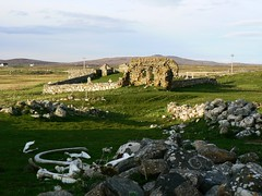 Ruin at Howmore