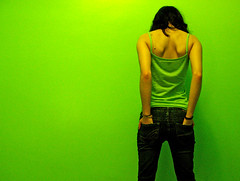 NOT AMAMAK (amamak photography!) Tags: selfportrait colour green me self bright yo moi explore explorefrontpage explore1 artlibre vision100 artzyviva