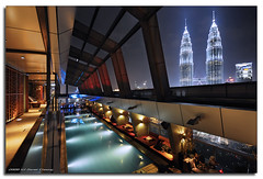 Skybar #3 (DanielKHC) Tags: longexposure bar night digital hotel high nikon bravo dynamic petronas towers swimmingpool malaysia kuala range dri increase hdr notripod lumpur iso1600 blending skybar d300 traders dynamicrangeincrease 5exp danielcheong danielkhc nikonrulesperiod kissesfromthailand
