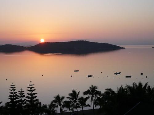 Sunrise in Noumea, New Caledonia