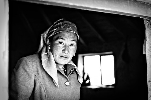 Kyrgyzstan Woman of the House, Xinjiang Province
