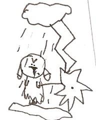 I hate rains