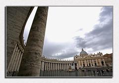 San Pietro ( Fabio Rosati ) Tags: italy roma sanpietro grandangolo prospettiva piazzasanpietro 17mm cittadelvaticano