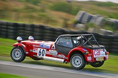 Flying SuperGrad (Dave Wilson Cumbria) Tags: mike super graduate caterham graduates knockhill solan