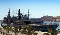 Frigates Kountouriotis & HMS Somerset (albireo2006) Tags: sea wallpaper greek harbor ship harbour background navy somerset malta greece mooring frigate warship royalnavy grandharbour hellenic type23 f82 type23frigate greeknavy hmssomerset natosnmg2 f462 kountouriotis