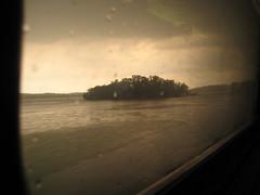 hudson river, island