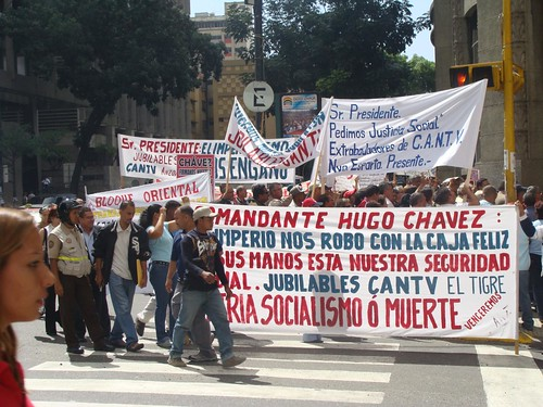 Protesta CANTV