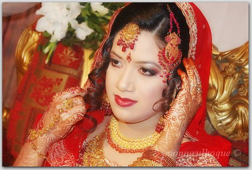Now wedding is a four days ceremony A Bangladeshi bride Photo from flickr