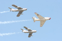 Airventure 2006 (Mike Rollinger) Tags: plane war aircraft airplanes flight jet 2006 vietnam formation korean eaa oshkosh airventure