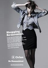 Oxfam online shop advert.