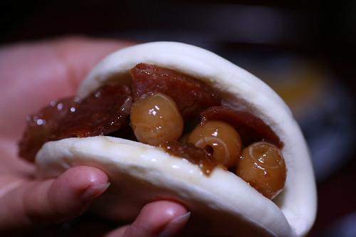 Honey Ham Lotus Bun