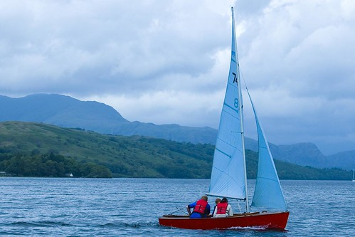 Sail boat by tony stanley, on Flickr