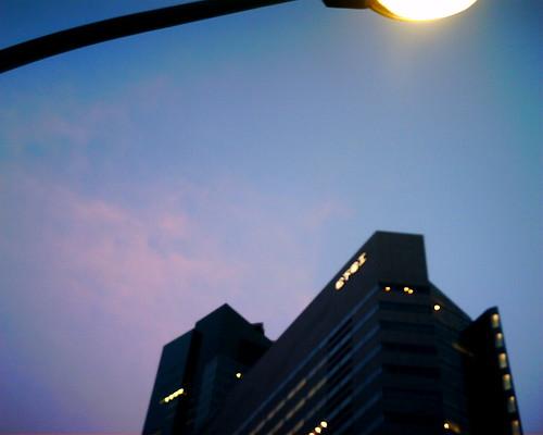 【写真】VQ1005で撮影した松下電工東京本社ビル