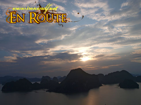 Ha Long Bay Karsts Sunset