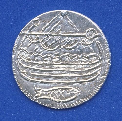 Haithabu Münze Vorderseite
