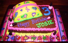 Josie's Makeup Cake