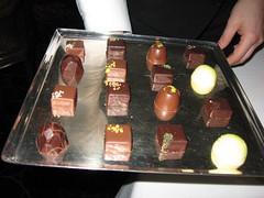 Per Se: Chocolates tray