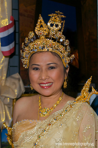 Asian Festival - Columbus, Ohio 2008  - Thailand Information Booth.