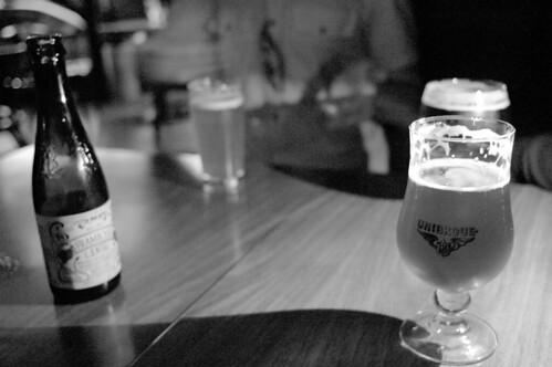Belgian beers at the Stumbling Monk
