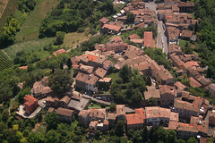 Beria village (_ Night Flier _) Tags: above travel sky italy panorama orange green nature airplane landscape town flying high village view earth top aviation hill aerial fromabove agriculture lombardia cessna skyview lombardy pavia birdeye aeronautic pavese voghera oltrep rootop beria oltreppavese splendidoltrep