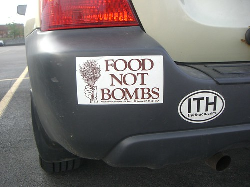 Food Not Bombs in Ithaca
