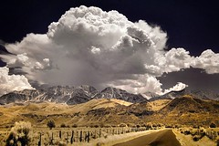 Landlocked desert (infrared). (coulombic) Tags: mountains abandoned nature clouds landscape ir utah scenery desert dramatic land infrared forsaken digitalinfrared landlocked infraredfilter infraredcamera cotcmostfavorited gabefarnsworth onlyyourbestshots maxmaxcom excapture infraredlight canoninfrared converteddigitalcamera xnitexdp photocontesttnc08 infrareddigitalphotography utahinfrared coulombic utahir ldpllc