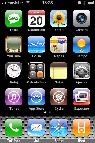 iPhone Classic actualizado 2.0