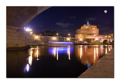 Moon Light ( pix&love) Tags: longexposure bridge light summer italy copyright moon rome roma reflection love water photoshop relax mirror honeymoon estate fiume hobby bynight luna ponte tiber tevere lungotevere moonlight luci capitale acqua azzurro photoart amore notturna castelsantangelo lazio specchio riflesso doppiaesposizione emozioni bateauxmouche pontesantangelo lunapiena tokina1224mm lungoiltevere estateromana romatiamo canoneos450d romacapitale pixlove