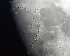 Mountains of the Moon (Mike Dole) Tags: moon telescope astrophotography xt45