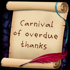 Carnival of Overdue Thanks logo