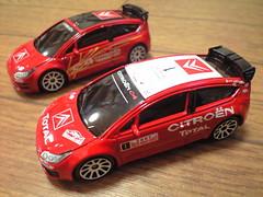 CITROEN C4:カバヤのラリーカーシリーズ