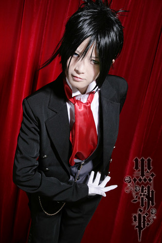 Personnages de Black Butler Seibastian Photos Cosplay