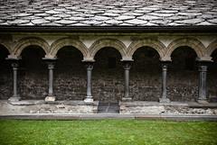 Sant'Orso (stijn) Tags: italy sculpture church architecture europe italia arch column romanesque valledaosta valdaosta nikond80