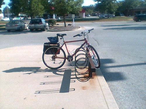 The Bike Rack at CVS is Accessible!