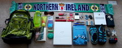 bag thenorthface random text books stuff northernireland whatsinyourbag nalgene lipgloss whatsinmybag contents keen macbook soccerscarf