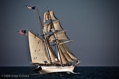 08Aug16_258 (JorgeVismara) Tags: sunset sea boats harbor sailing longbeach tallships sanpedro