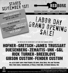 Full Page BW Redbone Grand Opening