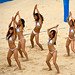 Girls Performing a Sand Show