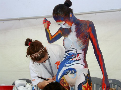World Bodypainting Festival Asia . Day Two