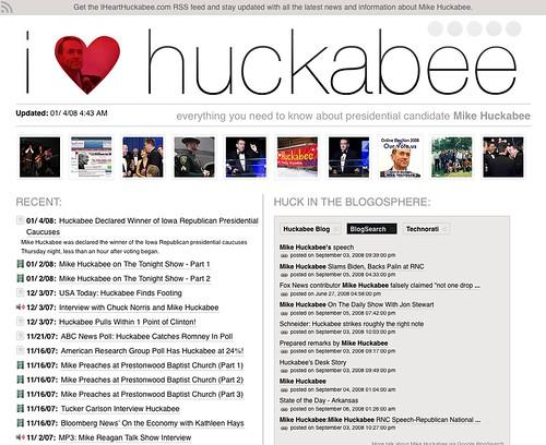 I Heart Huckabee