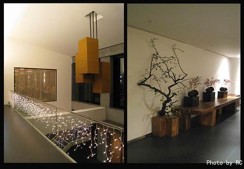The lobby of maple Garden Landis